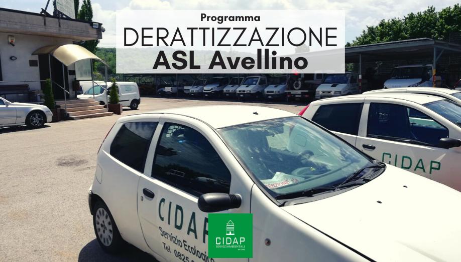 Programma derattizzazione Asl Avellino Maggio Giugno 2020