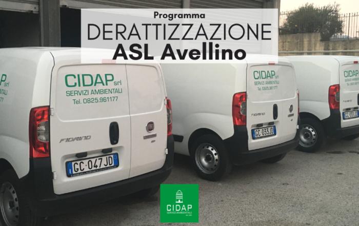 Programma derattizzazione ASL Avellino aprile 2021