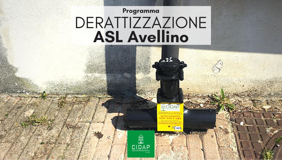 Programma derattizzazione ASL Avellino maggio 2021